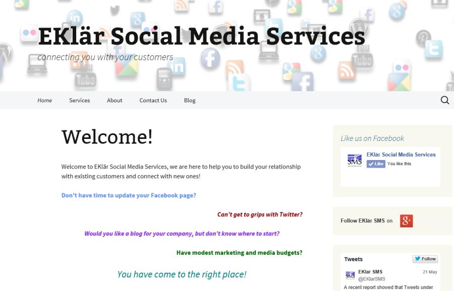 EKlar Social Media Services